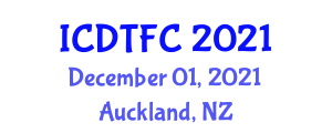 International Conference on Drone Technology and Flight Capabilities (ICDTFC) December 01, 2021 - Auckland, New Zealand