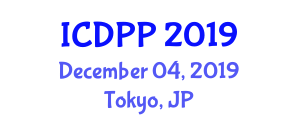 International Conference on Dynamic Psychology and Personality (ICDPP) December 04, 2019 - Tokyo, Japan
