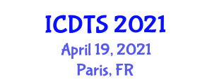 International Conference on Dynamic Tectonics and Seismology (ICDTS) April 19, 2021 - Paris, France