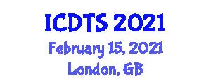 International Conference on Dynamic Tectonics and Seismology (ICDTS) February 15, 2021 - London, United Kingdom