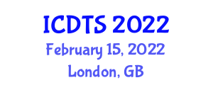 International Conference on Dynamic Tectonics and Seismology (ICDTS) February 15, 2022 - London, United Kingdom