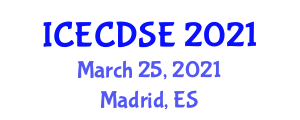 International Conference on Early Childhood Development and Science Education (ICECDSE) March 25, 2021 - Madrid, Spain