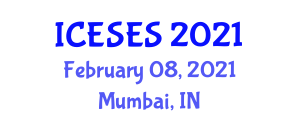 International Conference on Earth Sciences and Exploration Seismology (ICESES) February 08, 2021 - Mumbai, India