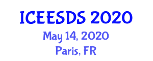 International Conference on Earthquake Engineering, Seismic Design and Seismology (ICEESDS) May 14, 2020 - Paris, France