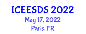 International Conference on Earthquake Engineering, Seismic Design and Seismology (ICEESDS) May 17, 2022 - Paris, France