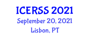 International Conference on Earthquake Resistant Structures and Seismology (ICERSS) September 20, 2021 - Lisbon, Portugal