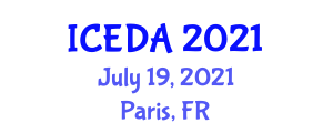 International Conference on Eating Disorders and Addiction (ICEDA) July 19, 2021 - Paris, France