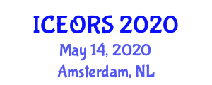 International Conference on Econometrics, Operations Research and Statistics (ICEORS) May 14, 2020 - Amsterdam, Netherlands