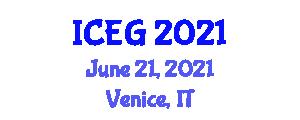 International Conference on Economic Geography (ICEG) June 21, 2021 - Venice, Italy