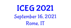 International Conference on Economic Geography (ICEG) September 16, 2021 - Rome, Italy