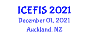 International Conference on Economics, Financial and Industrial Systems (ICEFIS) December 01, 2021 - Auckland, New Zealand