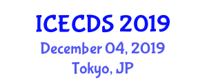 International Conference on Education, Cultural and Disability Studies (ICECDS) December 04, 2019 - Tokyo, Japan