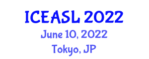 International Conference on Effects of Addictions on Social Life (ICEASL) June 10, 2022 - Tokyo, Japan