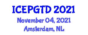 International Conference on Electric Power Generation, Transmission and Distribution (ICEPGTD) November 04, 2021 - Amsterdam, Netherlands