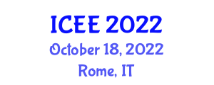 International Conference on Electrical Engineering (ICEE) October 18, 2022 - Rome, Italy