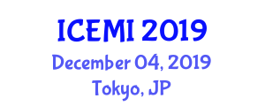 International Conference on Electrical Measurement and Instrumentation (ICEMI) December 04, 2019 - Tokyo, Japan