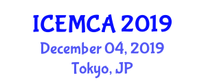 International Conference on Electronic Materials Chemistry and Applications (ICEMCA) December 04, 2019 - Tokyo, Japan
