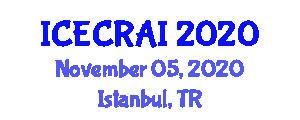 International Conference on Electronics, Computers, Robotics and Artificial Intelligence (ICECRAI) November 05, 2020 - Istanbul, Turkey