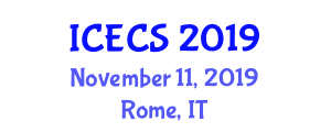 International Conference on Electrotechnics and Computer Sciences (ICECS) November 11, 2019 - Rome, Italy