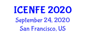 International Conference on Emerging Nanotechnologies in Food Engineering (ICENFE) September 24, 2020 - San Francisco, United States