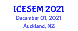 International Conference on Empirical Software Engineering and Measurement (ICESEM) December 01, 2021 - Auckland, New Zealand