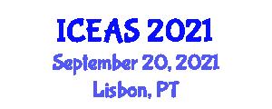 International Conference on Endangered Animals (ICEAS) September 20, 2021 - Lisbon, Portugal