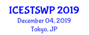 International Conference on Energy Storage Technologies for Solar and Wind Power (ICESTSWP) December 04, 2019 - Tokyo, Japan