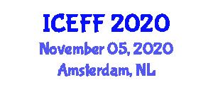 International Conference on Engineered Fibers and Fabrics (ICEFF) November 05, 2020 - Amsterdam, Netherlands