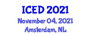 International Conference On Engineering Design Iced On November 04 05 2021 In Amsterdam Netherlands