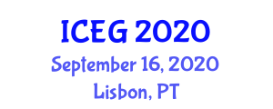 International Conference on Environment and Geography (ICEG) September 16, 2020 - Lisbon, Portugal