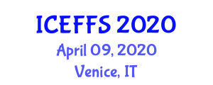 International Conference on Ethnic Foods and Food Security (ICEFFS) April 09, 2020 - Venice, Italy
