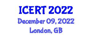International Conference on Evolutionary Robotic Technologies (ICERT) December 09, 2022 - London, United Kingdom