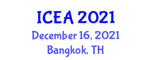 International Conference on Exercise Addiction (ICEA) December 16, 2021 - Bangkok, Thailand