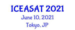 International Conference on Exercise Addiction: Symptoms, Assessment and Treatment (ICEASAT) June 10, 2021 - Tokyo, Japan