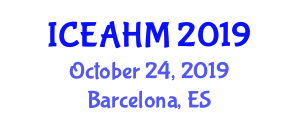 International Conference on Exotic Animal Health and Medicine (ICEAHM) October 24, 2019 - Barcelona, Spain