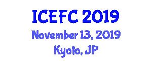 International Conference on Experimental Food Chemistry (ICEFC) November 13, 2019 - Kyoto, Japan