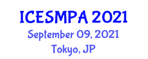 International Conference on Experimental Soft Matter Physics and Applications (ICESMPA) September 09, 2021 - Tokyo, Japan