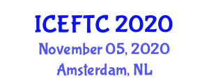 International Conference on Experiments in Fiber and Textile Chemistry (ICEFTC) November 05, 2020 - Amsterdam, Netherlands