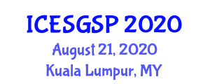 International Conference on Exploration Seismology and Geophysical Signal Processing (ICESGSP) August 21, 2020 - Kuala Lumpur, Malaysia