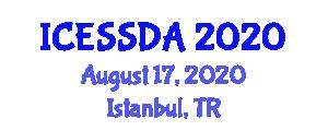 International Conference on Exploration Seismology and Seismic Data Analysis (ICESSDA) August 17, 2020 - Istanbul, Turkey
