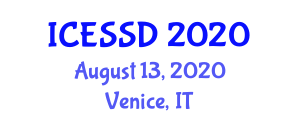 International Conference on Exploration Seismology and Seismic Data (ICESSD) August 13, 2020 - Venice, Italy