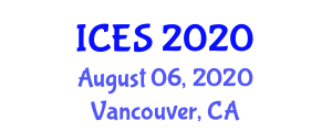 International Conference on Exploration Seismology (ICES) August 06, 2020 - Vancouver, Canada
