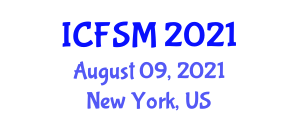 International Conference on Fashion and Social Media (ICFSM) August 09, 2021 - New York, United States