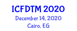 International Conference On Fashion Design Textiles And Merchandising Icfdtm On December 14 15 2020 In Cairo Egypt