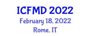 International Conference on Fashion Management and Design (ICFMD) February 18, 2022 - Rome, Italy
