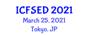 International Conference on Fast Software Encryption and Decryption (ICFSED) March 25, 2021 - Tokyo, Japan