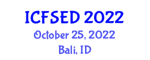 International Conference on Fast Software Encryption and Decryption (ICFSED) October 25, 2022 - Bali, Indonesia