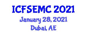 International Conference on Fast Software Encryption and Modern Cryptanalysis (ICFSEMC) January 28, 2021 - Dubai, United Arab Emirates