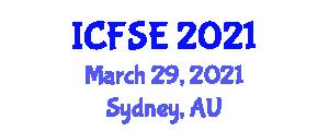 International Conference on Fast Software Encryption (ICFSE) March 29, 2021 - Sydney, Australia