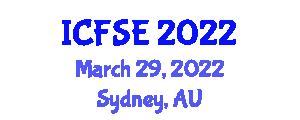 International Conference on Fast Software Encryption (ICFSE) March 29, 2022 - Sydney, Australia